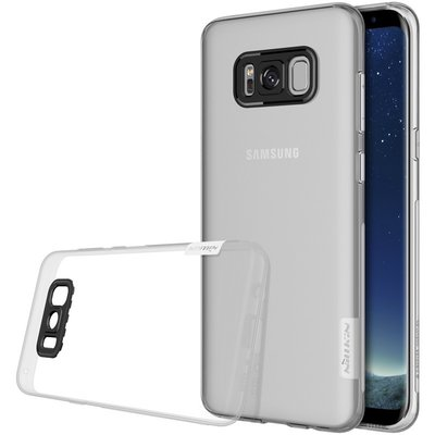 Samsung Galaxy S8 Plus silicone case Transparant