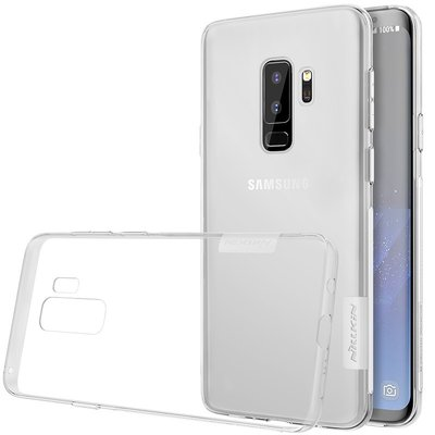 Samsung Galaxy S9 Plus silicone case Transparant