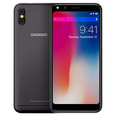 Doogee X53 5,3 inch Android 7.0 Quad Core 2200mAh 1GB/16GB Black