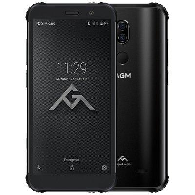 AGM X3 5,99 pouces Android 8.1 Octa Core 4100mAh 8Go/256Go Noir