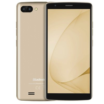 Blackview A20 5,5 inch Android 8.0 Quad Core 3000mAh 1GB/8GB Goud