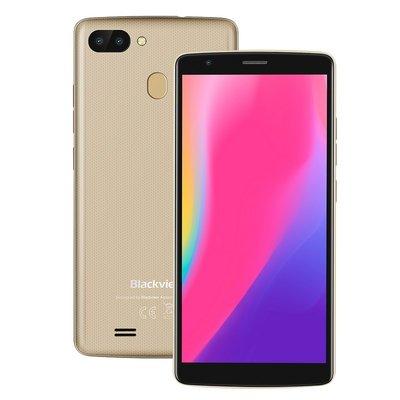 Blackview A20 Pro 5,5 pouces Android 8.1 Quad Core 3000mAh 2Go/16Go Or