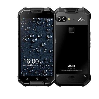 AGM X2 SE 5,5 pouces Android 7.1 Octa Core 6000mAh 6Go/64Go Noir