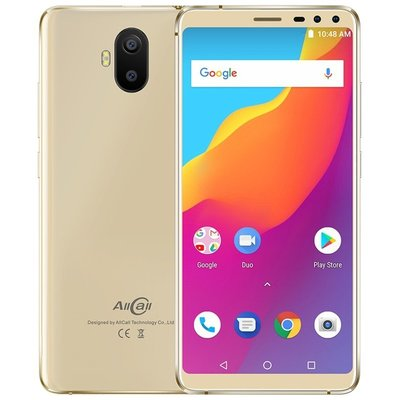 AllCall S1 5,5 pouces Android 8.1 Quad Core 5000mAh 2Go/16Go Or