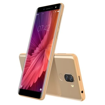 Doogee X60L 5,5 inch Android 7.0 Quad Core 3300mAh 2GB/16GB Gold
