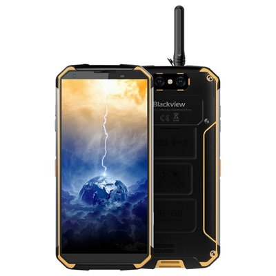 Blackview BV9500 Pro 5,7 inch Android 8.1 Octa Core 10000mAh 6GB/128GB Geel
