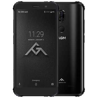 AGM X3 5,99 inch Android 8.1 Octa Core 4100mAh 8GB/128GB Zwart