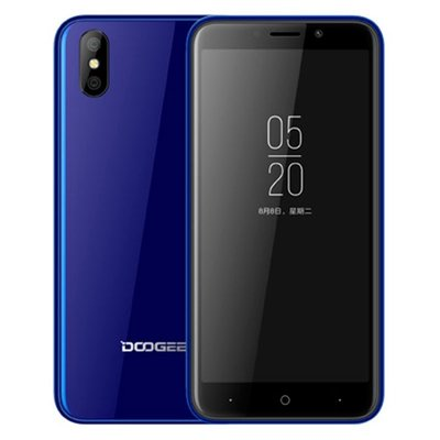 Refurbished Doogee X50 5 inch Android 8.1 Quad Core 2000mAh 1GB/8GB Blauw