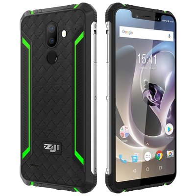 Zoji Z33 5,85 inch Android 8.1 Quad Core 4600mAh 3GB/32GB Groen