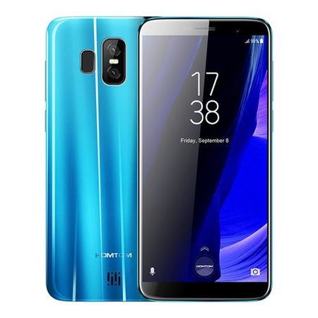 Homtom S7 5,5 inch Android 7.0 Quad Core 2900mAh 3GB/32GB Blauw