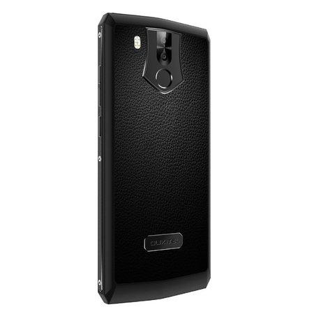 Oukitel K10 6 pouces Android 7.1 Octa Core 11000mAh 6Go/64Go Noir