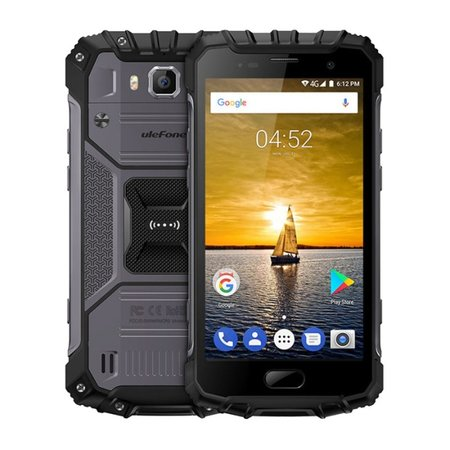 Ulefone Armor 2 5 inch Android 7.0 Octa Core 4700mAh 6GB/64GB Grey