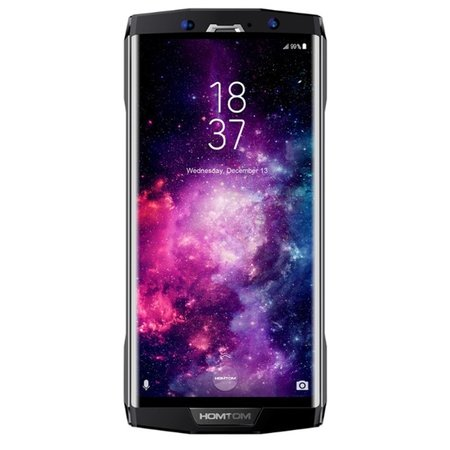 Refurbished Homtom HT70 6 inch Android 7.0 Octa Core 10000mAh 4GB/64GB Black
