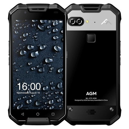 AGM X2 5,5 inch Android 7.0 Octa Core 6000mAh 6GB/64GB Black