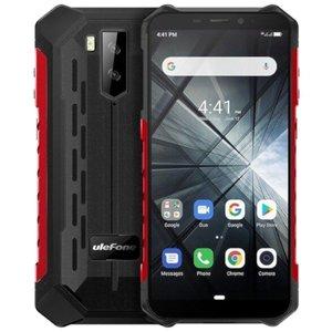 Ulefone Armor X3 5,5 pouces Android 9.0 Quad Core 5000mAh 2Go/32Go Rouge