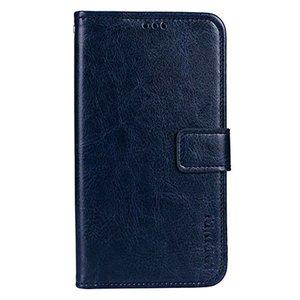 Bluboo S8 flip cover Blauw