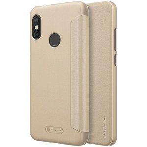 Xiaomi Mi A2 Lite flip cover Goud
