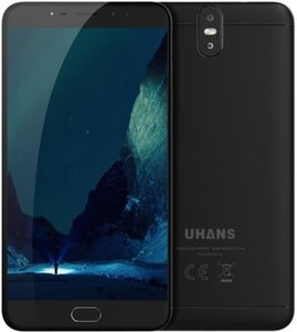 Refurbished Uhans Max 2 6,44 inch Android 7.0 Octa Core 4300mAh 4GB/64GB Zwart