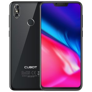 Cubot P20 6,18 inch Android 8.0 Octa Core 4000mAh 4GB/64GB Black